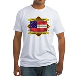 1st Cherokee Regiment Fitted T-Shirt