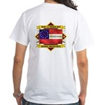1st Cherokee Regiment White T-Shirt