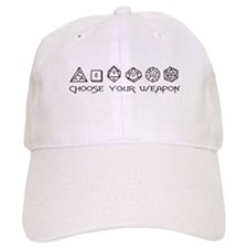 Choose Your Weapon Baseball Cap