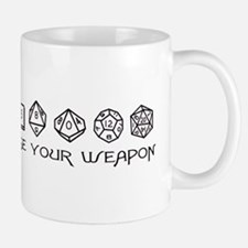 Choose Your Weapon Small Mugs