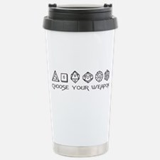 Choose Your Weapon Stainless Steel Travel Mug