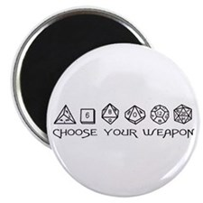 Choose Your Weapon Magnet
