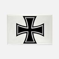 Iron Cross Rectangle Magnet