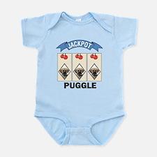 Jackpot Puggle Infant Bodysuit