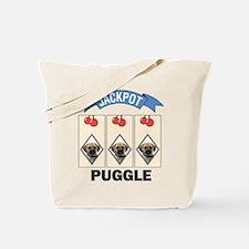 Jackpot Puggle Tote Bag