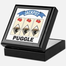 Jackpot Puggle Keepsake Box