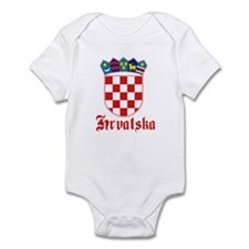 Croatia Infant Bodysuit