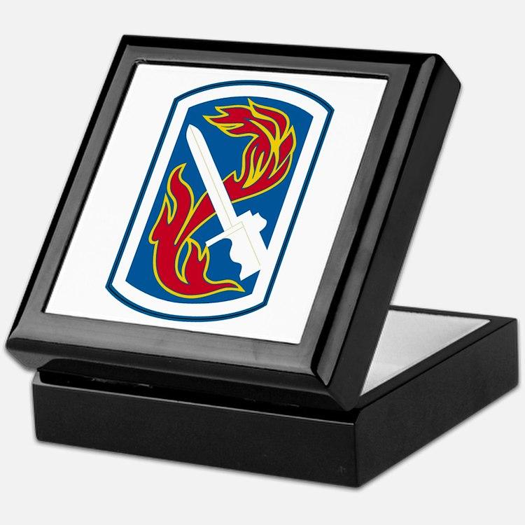 198th Infantry Brigade Keepsake Box
