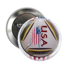 """USA South Africa 2010 - 2.25"""" Button"""