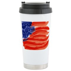 US Flag - 4th of July Stainless Steel Travel Mug