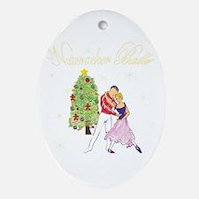 The Nutcracker Ballet Ornament (Oval)