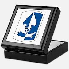 187th Infantry Brigade Keepsake Box