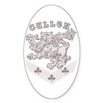 Cullen Crest Sticker (Oval 50 pk)