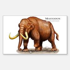 Mastodon Decal