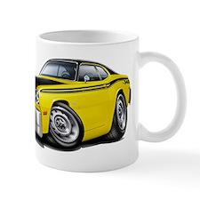 Duster 340 Yellow Car Mug
