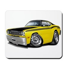 Duster 340 Yellow Car Mousepad