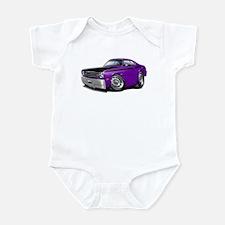 Duster 340 Purple Car Infant Bodysuit