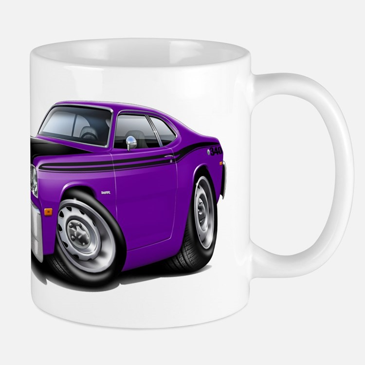 Duster 340 Purple Car Mug