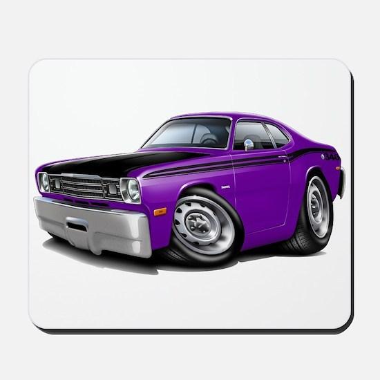 Duster 340 Purple Car Mousepad