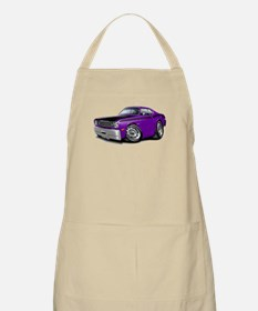 Duster 340 Purple Car Apron