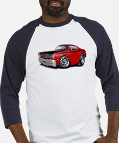 Duster 340 Red Car Baseball Jersey