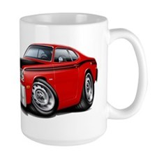 Duster 340 Red Car Mug