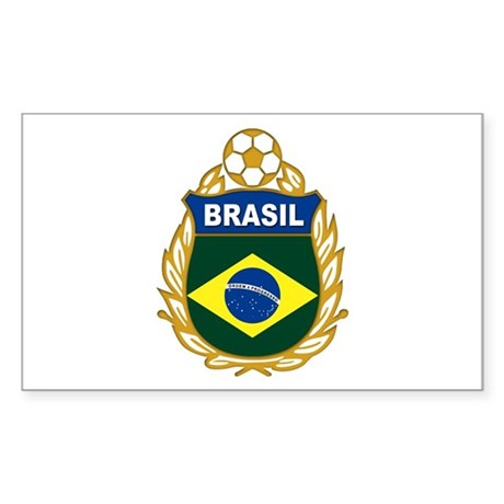 brasil world cup Sticker (Rectangle)