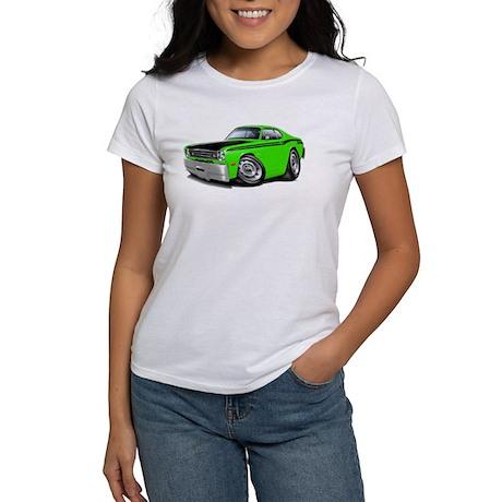 Duster 340 Lime Car Women's T-Shirt