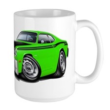 Duster 340 Lime Car Mug