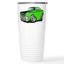 Duster 340 Lime Car Travel Mug