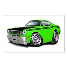 Duster 340 Lime Car Decal
