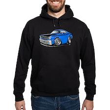 Duster 340 Blue Car Hoodie