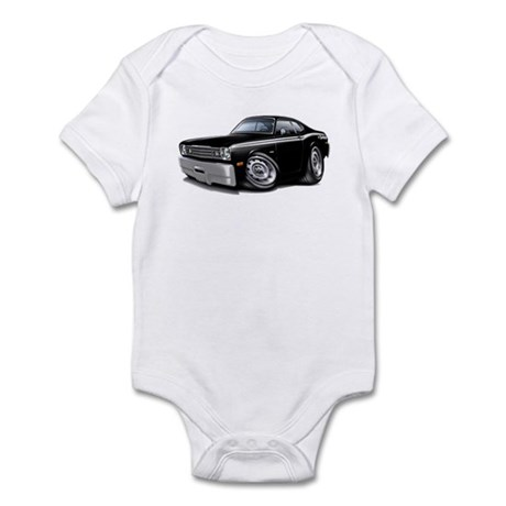 Duster 340 Black Car Infant Bodysuit