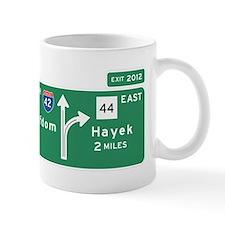 Road to Serfdom: Junction Small Mug