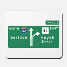 Road to Serfdom: Junction Mousepad