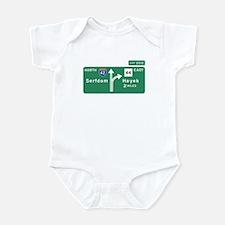 Road to Serfdom: Junction Infant Bodysuit