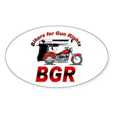 Bikers and Guns Decal