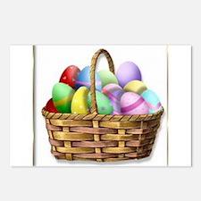 Easter basket Postcards (Package of 8)