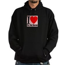 I Love Oil Free Beaches Hoodie
