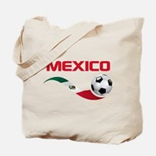Soccer MEXICO Tote Bag