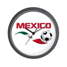 Soccer MEXICO Wall Clock