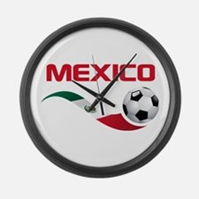Soccer MEXICO Large Wall Clock