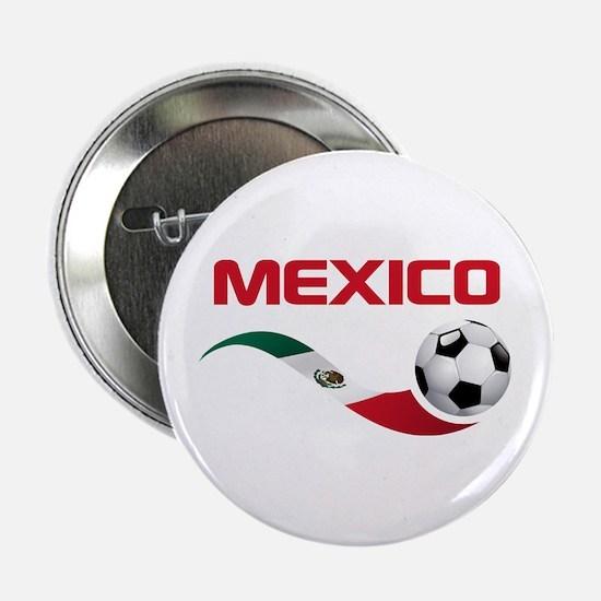 """Soccer MEXICO 2.25"""" Button"""