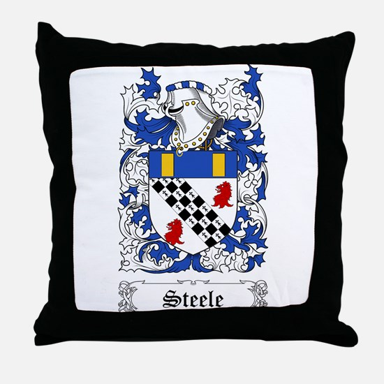 Steele [Scottish] Throw Pillow