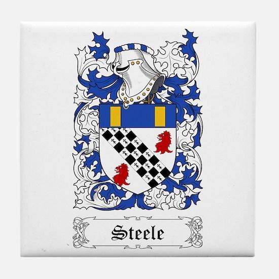 Steele [Scottish] Tile Coaster