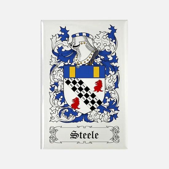 Steele [Scottish] Rectangle Magnet