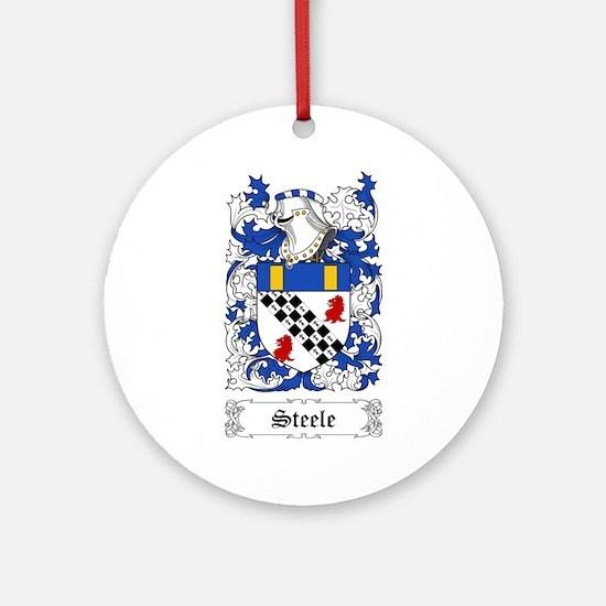 Steele [Scottish] Ornament (Round)