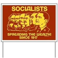 Socialists Obama Yard Sign