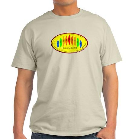 Kayak Rainbow (Yellow) Light T-Shirt