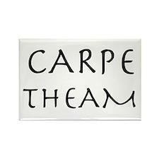 Carpe Theam/Seize the Tea Rectangle Magnet